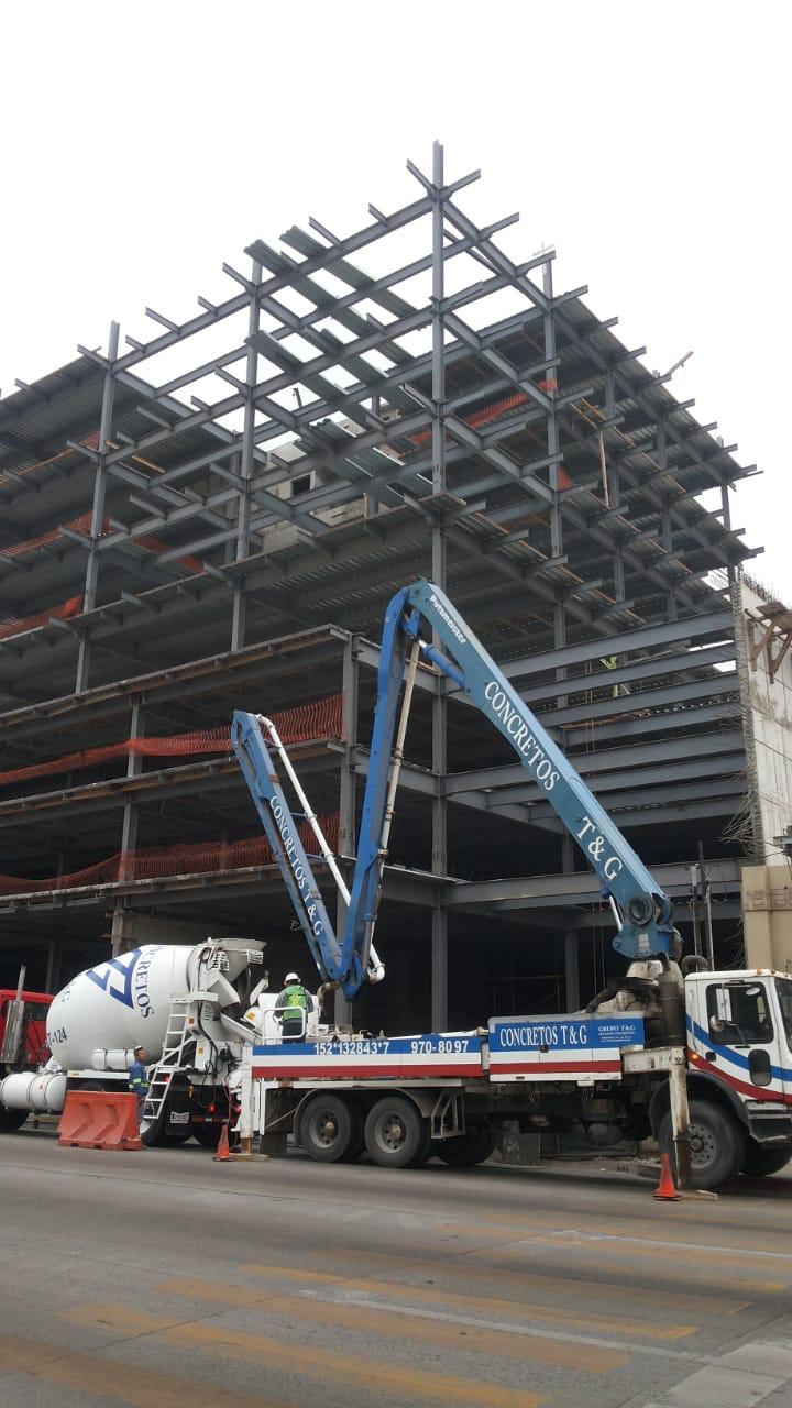 Concreto  Centro corporativo Dayco